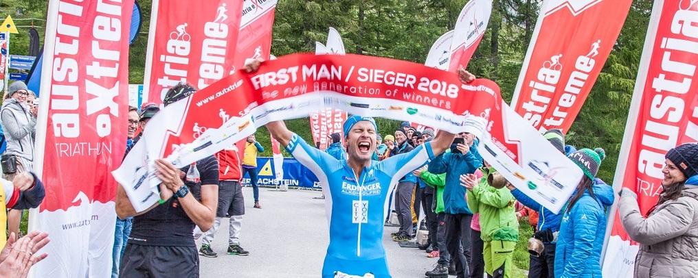 Christoph Schlagbauer Austria eXtreme Triathlon